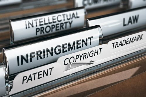 Intellectual property infringement and copyright documents